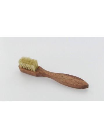 Cepillo espatula modelo pequeño limpieza cueros lisos Medaille d'Or