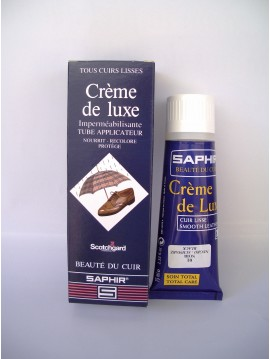 Creme de soins tube Saphir 75 ml with applicator