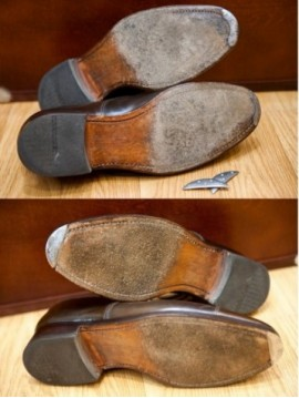 Punteras metálicas para calzado