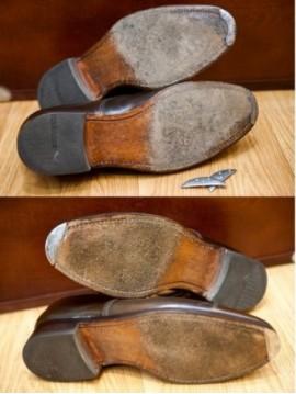 Metal toe taps