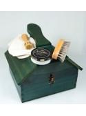 Pack Especial Limpieza con caja de madera en forma de casa