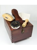 Pack Especial Limpieza con caja de madera cuadrada