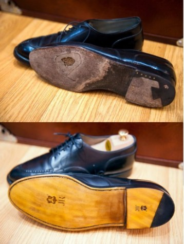 JR new soles hand - stitched