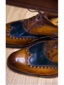 Limpieza profesional y glaseado del calzado