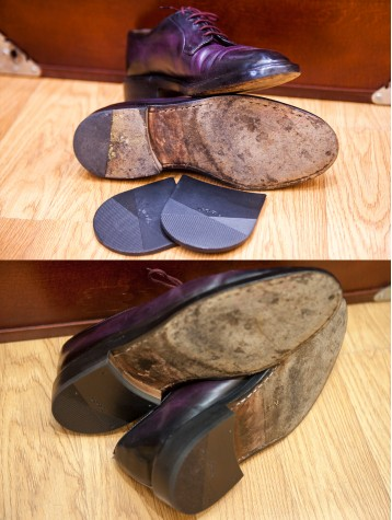 Vibram new rubber heels