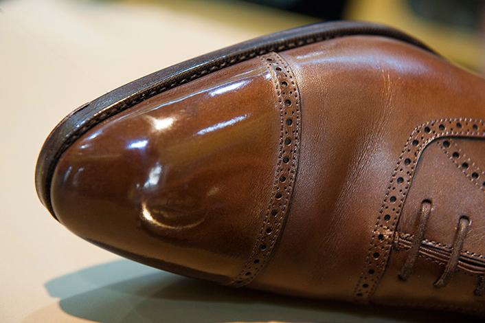 zapato con glaseado Sánchez
