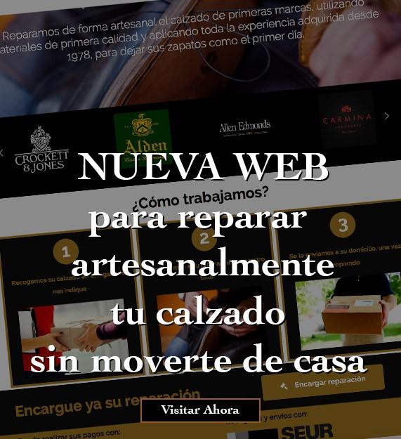 Nueva web de reparaciones a domicilio