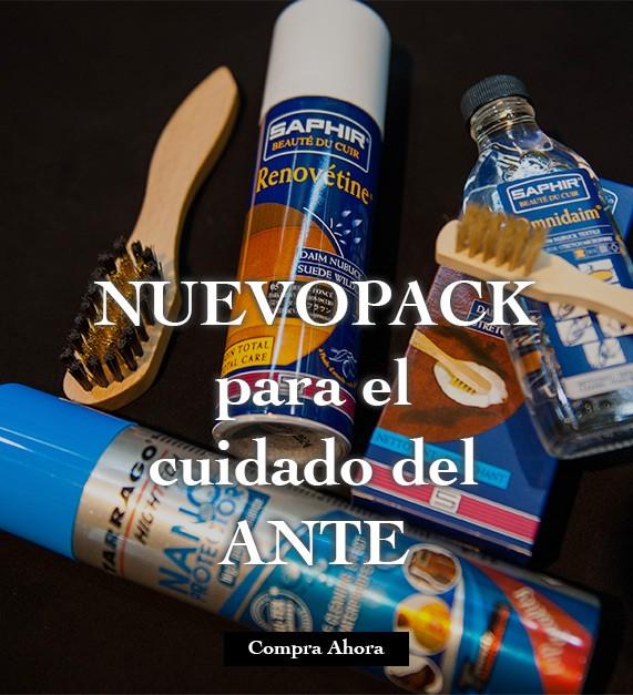Pack para cuidado y limpieza del Ante